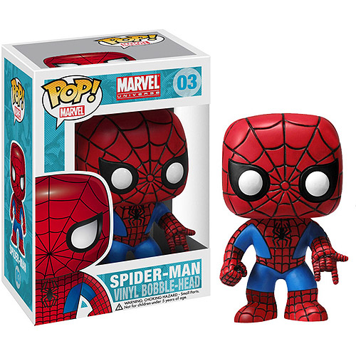 Funko Marvel Pop! Spider-Man Vinyl Bobble Head Figure