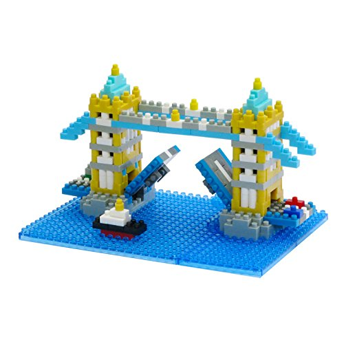 Kawada Nanoblock TOWER BRIDGE London UK Building Kit by PremiumJapan