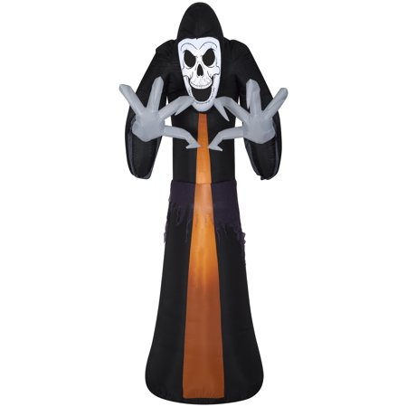 12' Airblown Giant Reaper Halloween Inflatable - Giant Inflatable Halloween Haunted Castle