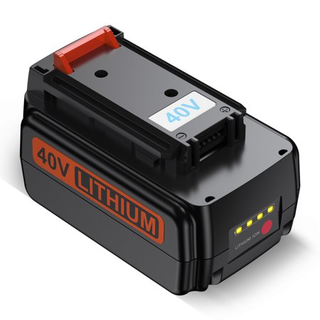 Powerextra 2500mAh 40V MAX Replacement Lithium-ion Battery for Black&Decker LBX2040 Power Tools Batteries