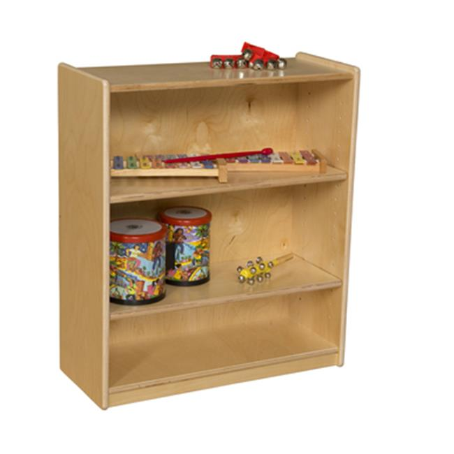 Wood Designs WD15900AJ Small Bookcase with Adjustable Shelves