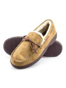 ba7dfc9ae9aa Product Image ArcticShield Mens Memory Foam Indoor Outdoor Durable  Comfortable Slip On Moccasin Slippers