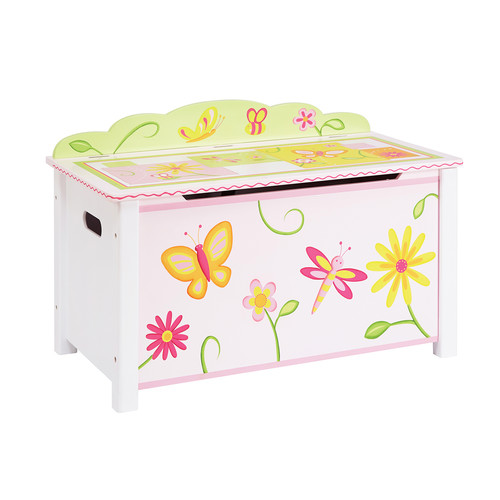 Guidecraft Gleeful Bugs Toy Box by Guidecraft