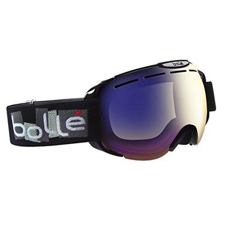 d3fafea9b8 Bolle 21290 Scream II Mirror Ski Goggles with Anti-Fog (Shiny Black) -  Walmart.com