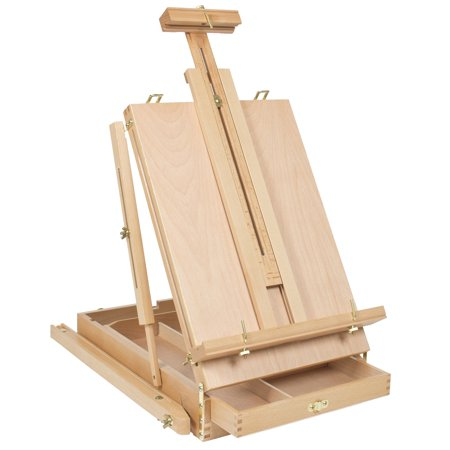 Ktaxon French Folding Durable Tripod Painting Drawing Easel Display Stand Holder Floor with Wooden Sketch Box Drawer Storage Portable Art Craft Painter Studio - image 7 of 7
