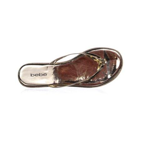 701b9b9b8903 Bebe Ilistra Flip Flop Sandals