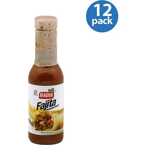 Badia Fajita Marinade/Sauce, 10 fl oz, (Pack of 12)