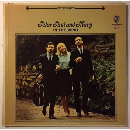 peter paul and mary In The Wind 1963 Warner Bros Vintage Vinyl
