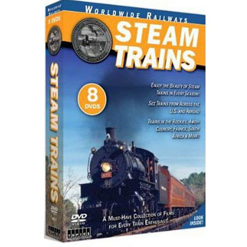 Steam Trains (8 Discs) (Full Frame)