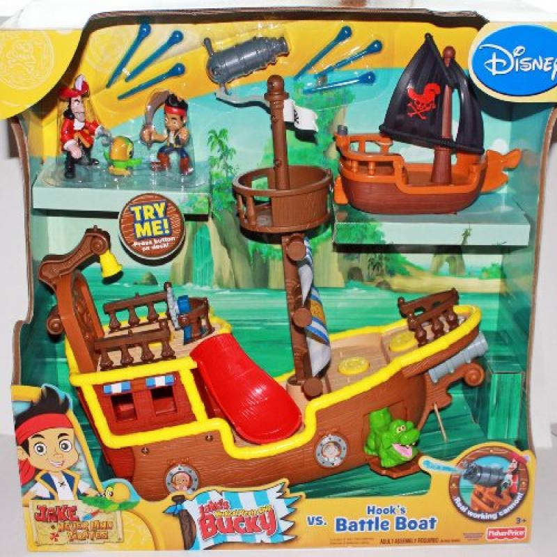 Fisher Price Disney Jake and the Neverland Pirates Gift S...