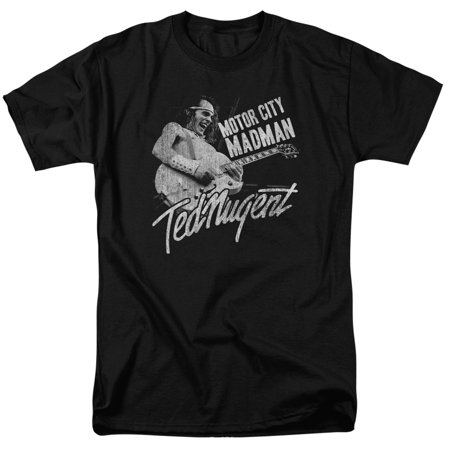 Ted Nugent Iconic Rock Music Guitarist Motor City Madman Adult T-Shirt