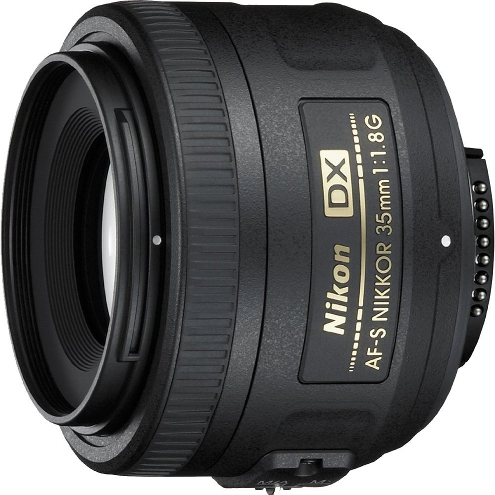 Refurbished Nikon 35mm f/1.8G AF S DX Lens for Nikon Digital SLR Cameras