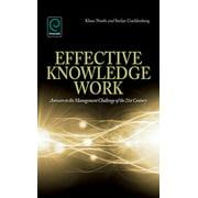 Effective Knowledge Work