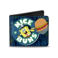 Spongebob Cartoon TV Series Nice Buns Bi-Fold Wallet