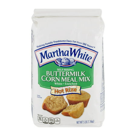 (3 Pack) Martha White Buttermilk Corn Meal Mix, 5.0