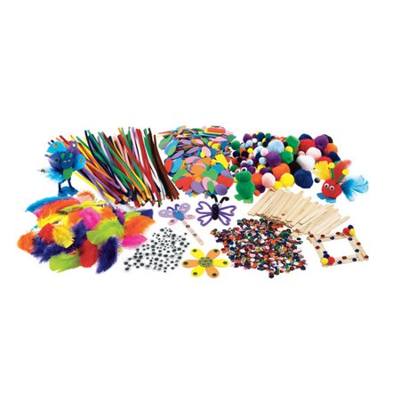 Colorations Classroom Crafting Starter Set (Item # CRAFTBOX) - Classroom Items