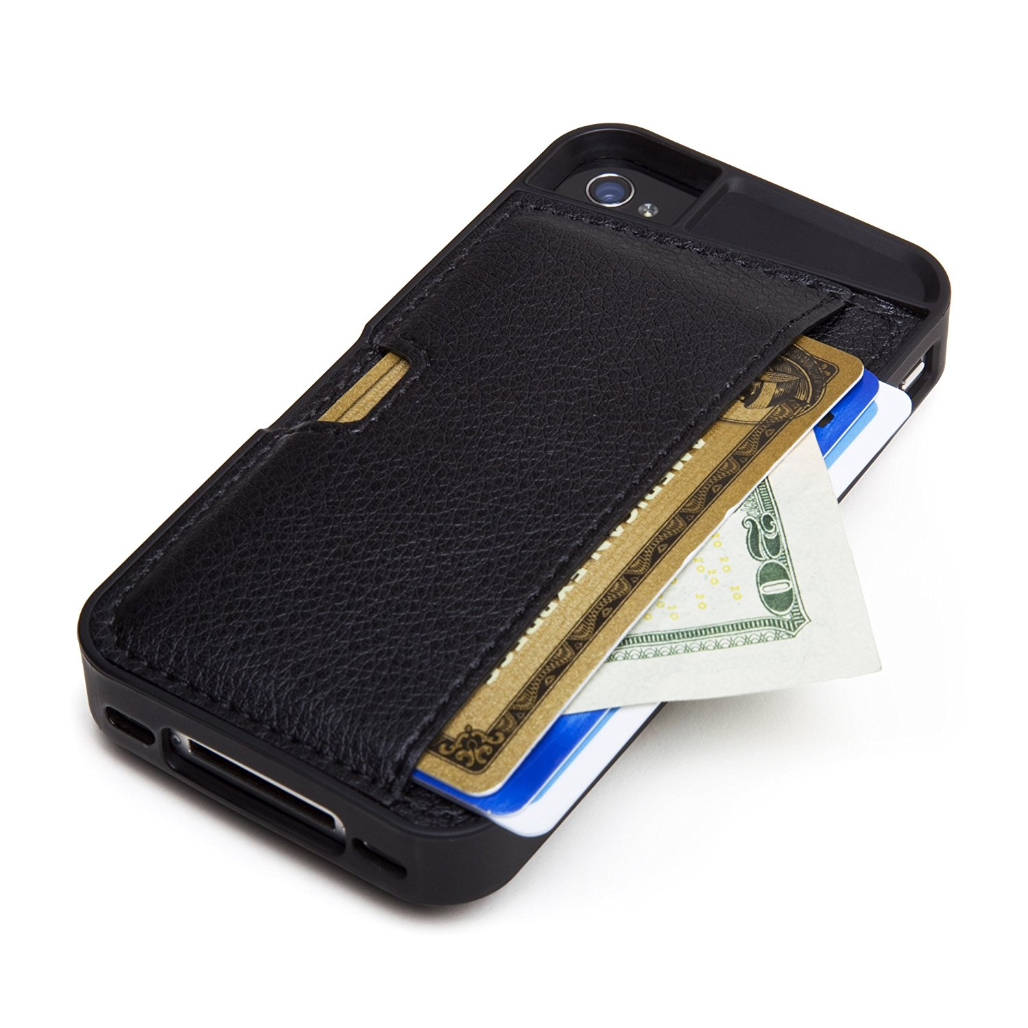 CM4 Q4-BLACK iPhone Wallet Card Case for iPhone 4/4s - 1 ...
