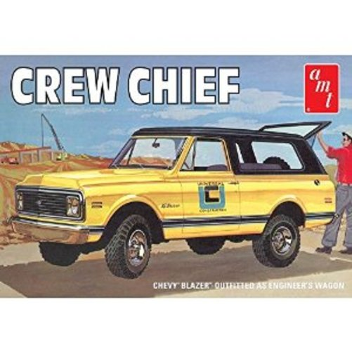 1/25 1972 Chevy Blazer Crew Chief Multi-Colored