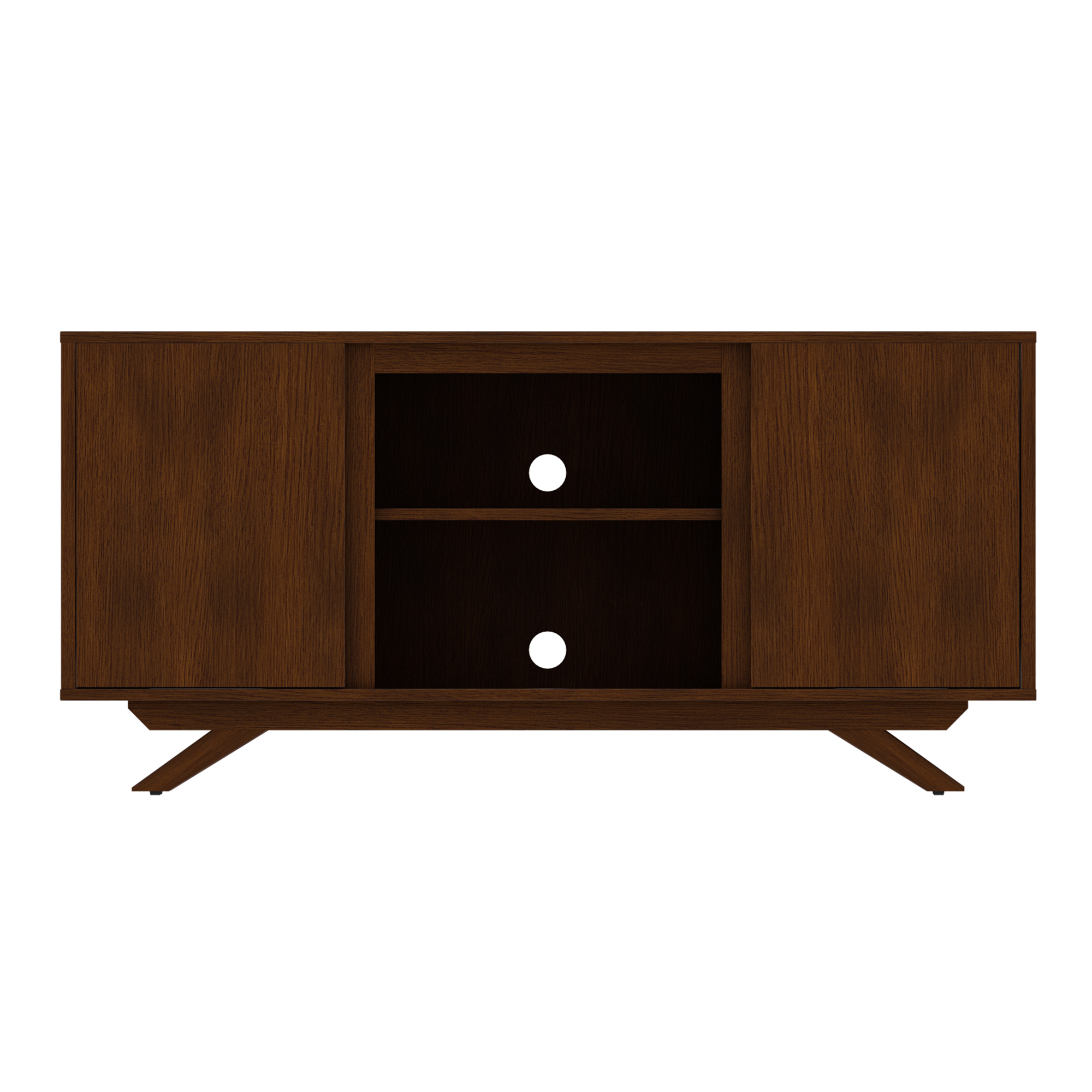 Wynnefield Cherry TV Stand for TVs up to 55""