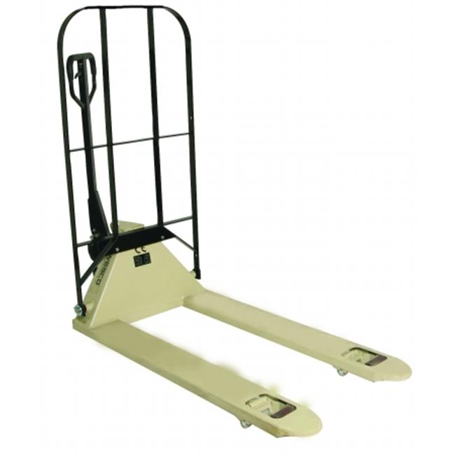 Wesco Industrial 272296 Pallet Truck 27 x 48 in. Cp1 With Back Rest