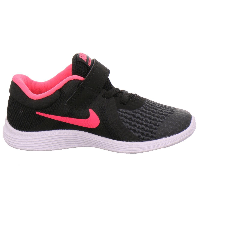 colateral acidez interferencia  Nike - Nike 943308-004: Baby Girls Revolution 4 Black/Racer Pink/White  Running Sneaker (9 M US Toddler) - Walmart.com - Walmart.com