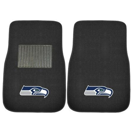 Fan Mats NFL Football Embroidered Car Mat - Set of 2 ()