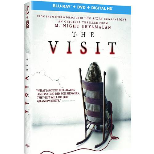 The Visit (Blu-ray   DVD   Digital HD) (With INSTAWATCH)