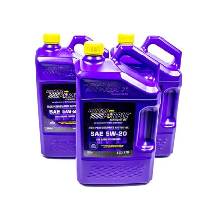 Royal purple 54520 api licensed sae 5w 20 high performance for Motor oil api rating