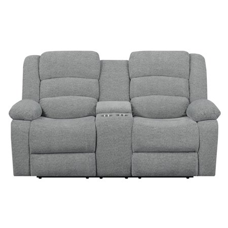 center loveseat with sofa wallace ross love power and recliner electric seat flexsteel console leather reclining recliners
