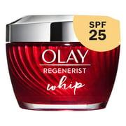 Olay Regenerist Whip Face Cream Moisturizer, SPF 25, 1.7 oz
