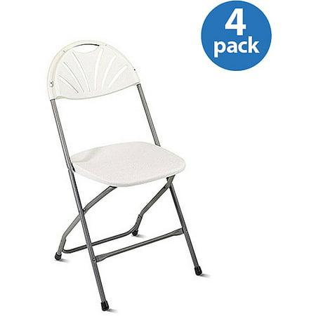 office star work smart fan back folding chairs set of 4