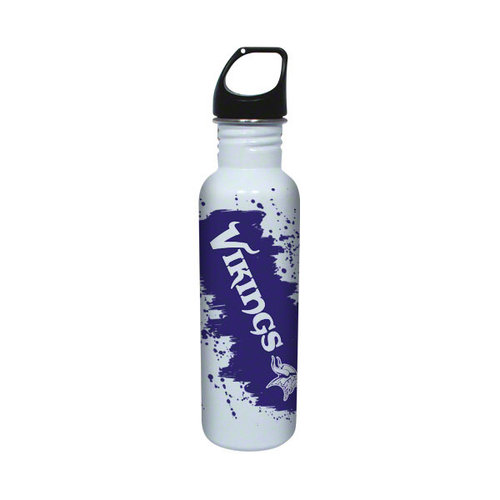 NFL - Minnesota Vikings Stainless Steel Water Bottle