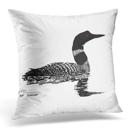 STOAG Lake Peaceful Rustic Cabin Cottege Northwoods Northland Throw Pillowcase Cushion Case Cover 16x16 inch ()