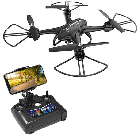 - Holy Stone HS200D FPV RC Drone with 720P Camera 120°FOV Live Video WiFi Quadcopter for Beginners and Kids RTF RC Helicopter with Altitude Hold 3D Flips Color Black