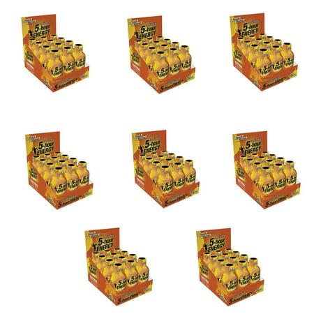5 HOUR ENERGY Tir supplémentaire Force Peach Paquet de 96 de mangues 2 bouteilles Ounce