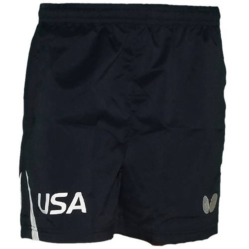 USA Table Tennis Team Shorts, Navy