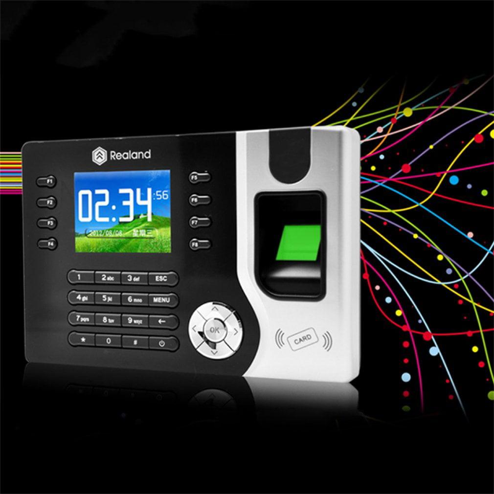 2018 New Biometric Fingerprint Attendance Time Clock+ID Card Reader+TCP IP+USB by MUSIC