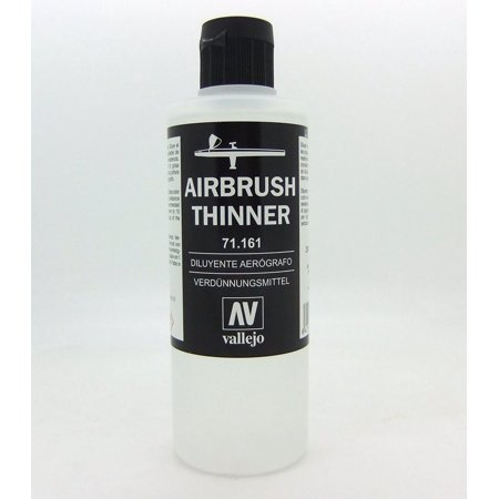 Airbrush Thinner 200ml Paint, Ideal for Model Air and Liquid Acrylic paints By -