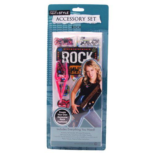 Next Style Iron-On Accessory Set, Rock