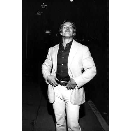 Arnold Schwarzenegger In A Suit Photo Print