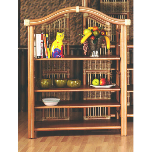 Spice Islands Wicker Etagere 51'' Etagere Bookcase