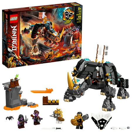 LEGO NINJAGO Zanes Mino Creature 71719 Ninja Building Toy for Kids Ages 8+ (616 Pieces)