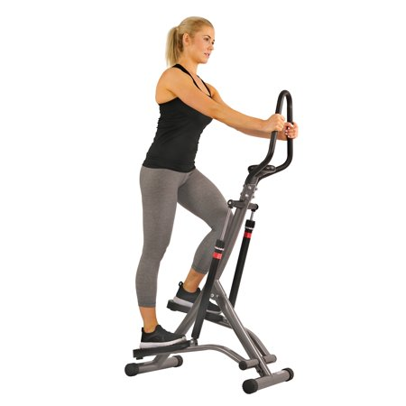 Sunny Health & Fitness SF-1115 Folding Climbing Stepper Step Machine with LCD - Climbing Machine