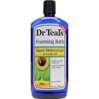 Dr Teal's Foaming Bath, Super Moisturizer Avocado Oil, 34 oz