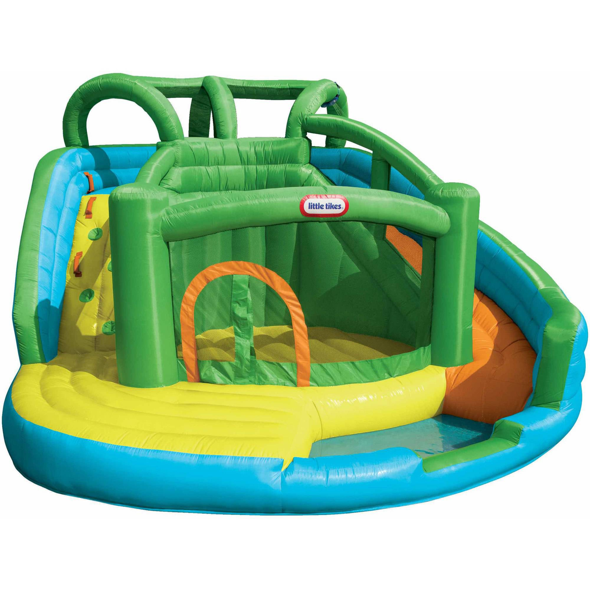 Little Tikes 2-in-1 Wet 'n Dry Waterslide and Bouncer by MGA Entertainment