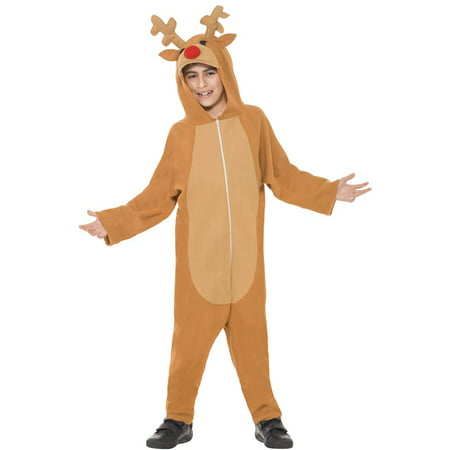 Red Nosed Reindeer Child Costume (Women Reindeer Costume)