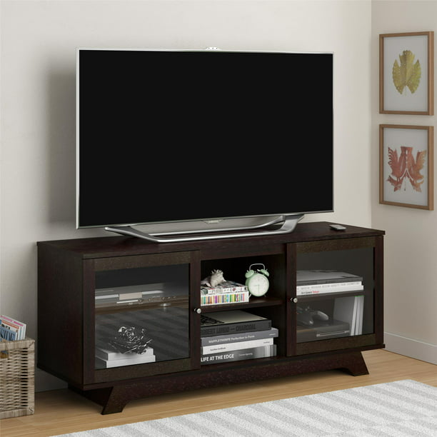 """Ameriwood Home Englewood TV Stand for TVs up to 55"""", Espresso"""