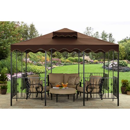 Better Homes and Gardens and this Castleman Garden Pavilion Gazebo, 11.5' x 11.5'