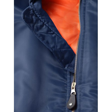 Hat and Beyond Men's MA-1 Premium Padded Bomber Flight Jacket Outerwear