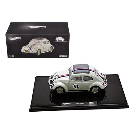 VW Volkswagen Beetle #53 Love Bug Herbie Goes To Monte Carlo Elite Edition 1/43 Diecast Model Car by